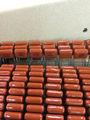 De poliéster de METAL condensador 0.1 UF 400 V