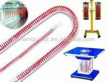 240v 2800w carbon fiber ruby and transparent quartz heater with U shape,high quality U shape carbon fiber heating tube