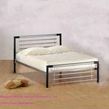 Nuovo stile metal moderno letto/letto in ferro battuto/metallo mobili letto società