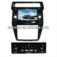 in dash car dvd player for Citroen C-quatre with GPS/Bluetooth/Radio/SWC/Virtual 6CD/3G internet/ATV/iPod/DVR