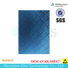 ESD polyester blue mesh fabric