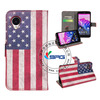Flag Design Wallet Cases For Nexus, For Google Nexus Leather Case With Stand