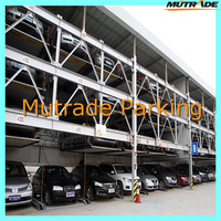 Smart vehicle puzzle type steel structure for car parking system