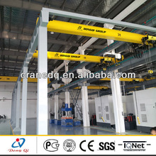 European type electric single girder 10ton workshop used paper roll lifting equipment