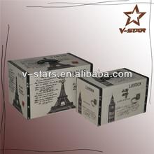 Wholesale antique style white wood letter boxes