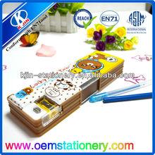 multifunctional pencil case /stylish pencil case/double layer pencil case