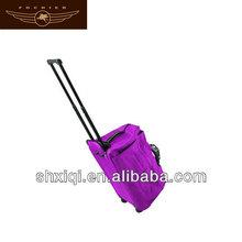 wholesale travel bag on wheels duffel bag with trolley
