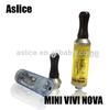 Aslice gift mini vivi nova 2.0ml pyrex glass mini vivi nova 2ml