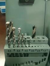 19pcs Masonry+Wood Working Drill Bit Set