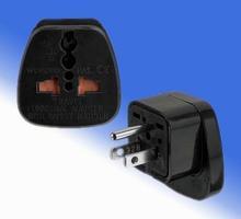 Universal Uk Au Eu To Us Ac Power Plug Travel Adapter Converter Socket 3 Pin