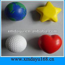 Custom Round Heart Star Shape PU Stress Ball Supplier