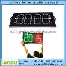 Hot sale soccer player change board usa