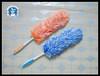 Colourful microfiber car duster