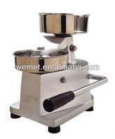 Manual hamburger patty machine