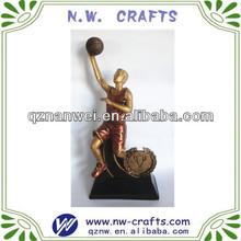 New design basketball 3d trophy award