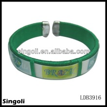 2014 world cup silicone rubber hand bands