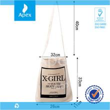 natural long handle canvas duffle bags wholesale