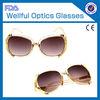 105S Hot Sale New America Designer Delicate Decoration UV-protected Fashion Trend 2014 women sunglasses