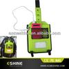 hot selling black Custom solar charger bag for laptop