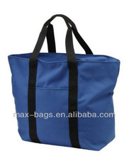 eco-friendly Heavy-duty Large Port Authority Zipper Shopping Bag Available in 5 Colors