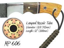 """Lanyard Mosaic Pins for Knife Handles MP 606 (3/8"""") 9.5mm"""
