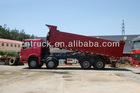 Low price SINOTRUK dumper truck 8x4