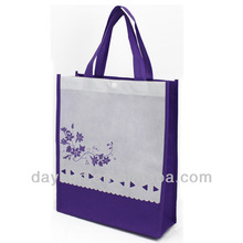Simple Shopping Bags Purple Shopping Bags With Designed Part