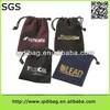 Hot selling economic fashion brand name velvet shopping bag