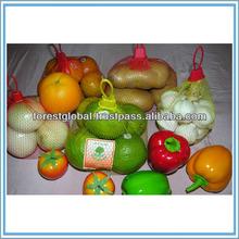 Hot Selling Orange Mesh Bag