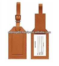 2015 luggage name tags shapes / custom travel bag tags / business card luggage tag