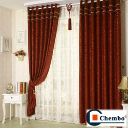 China manufacture indian window curtains