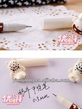 office&school gel ink pen of dairy cow design