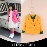 ta50341 children clothes latest design fashion Small suit jacket for girls