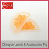 Direct factory silicone private label for garment
