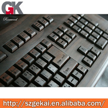 rosewood computer keyboard for tablet pc
