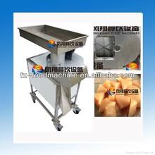 FC-613 sweet potato dicing machine, sweet potato dicer, sweet potato dice cutter (skype: wulihuaflower)