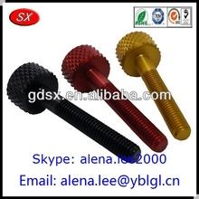 Various types colorful m6&m5m3 aluminum screw/m5 aluminum screw/aluminum screw m6