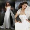 GR0011 Graceful Handmade Bowknot Chiffon Bridesmaids Dress