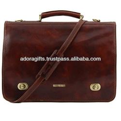 ADALLB - 0082 hotsale fashion useful laptop bag / leather laptop carry cases bag / laptop messenger bag for man