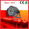 CE RoHS Certificated 18pcs 10w Par Light / rgbw 10w led par can light