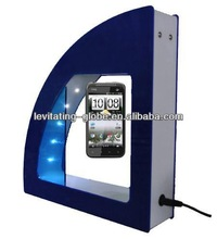 New advertising ideas ! mobile phone levitron with customer icon
