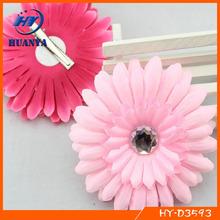 Hallowmas Hair Clip,Pearl Centre Diy Fabric Pumpkin Flower Clip,Top Baby Clip