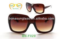 Brown oversized sunglasses,womens Celebrity Sunglasses