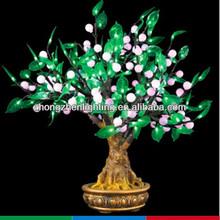 artificial bonsai pearl tree light,bonsai fruit lights,bonsai cherry lighting