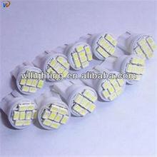 Wholesale 194 168 T10 8 SMD 3020 1206 Led Car Lighting T10 28SMD 3528 1210 LED Signal Indicator Lights Whtie 12V