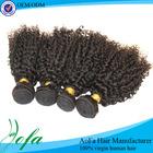 Unprocessed bohemian curl human hair weave