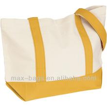 Plain Cotton Canvas Bags & Medium Snap Tote Bag