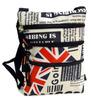 Little Crossbody Shoulder Bag Retro England Phone Money TRENDY NEW
