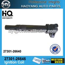 Guangzhou Denso auto ignition coil for HYUNDAI 27301-26646,27301-26640