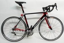 2014 56/59/61cm big size carbon fiber complete bike for sale carbon cheap road bicycle